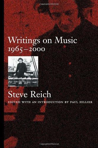9780195111712: Writings on Music, 1965-2000