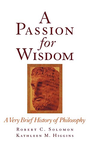9780195112085: A Passion for Wisdom: A Very Brief History of Philosophy