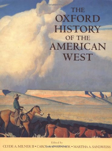 9780195112122: The Oxford History of the American West