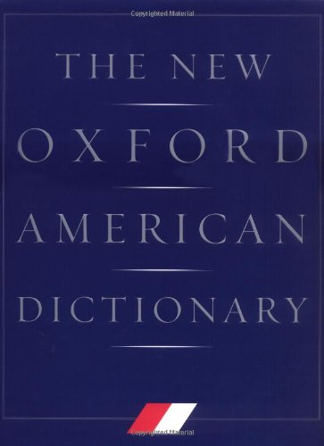 9780195112276: The New Oxford American Dictionary: Indexed