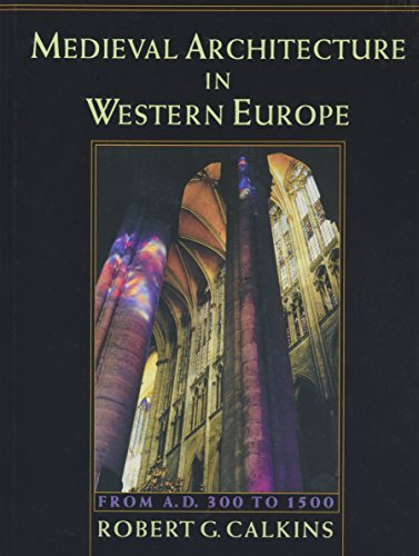 9780195112412: Medieval Architecture in Western Europe: From A.D. 300 to 1500 Includes CD