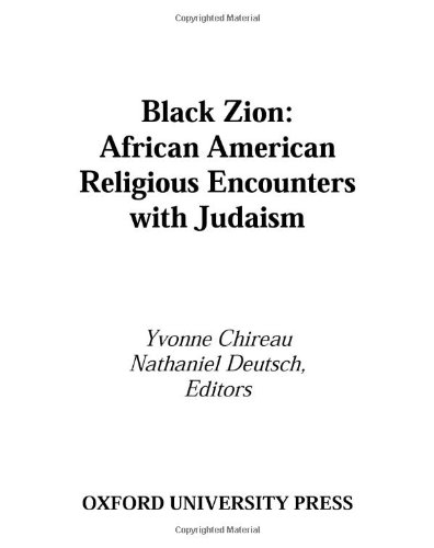 9780195112573: Black Zion: African American Religious Encounters with Judaism (Religion in America)