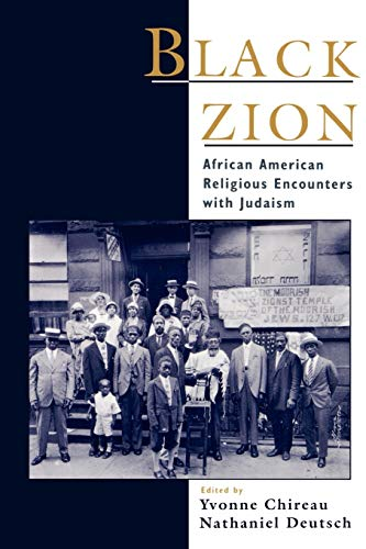 9780195112580: Black Zion: African American Religious Encounters with Judaism (Religion in America)