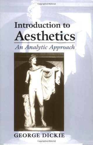 9780195113044: Introduction to Aesthetics: An Analytic Approach