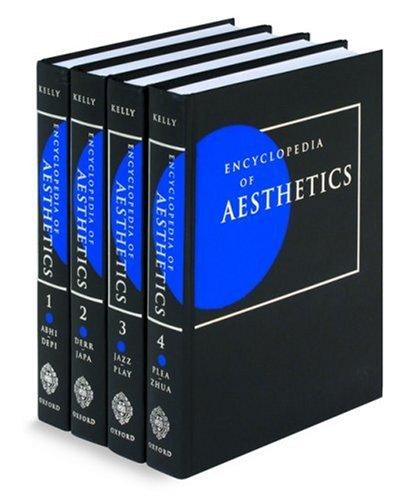 9780195113075: Encyclopedia of Aesthetics