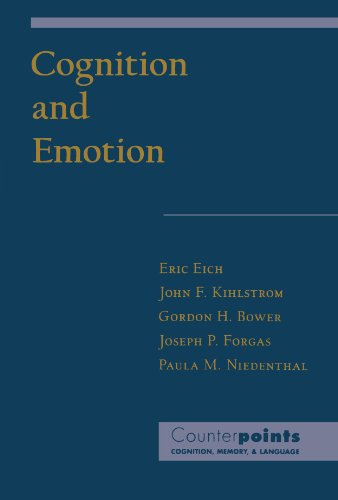 9780195113341: Cognition and Emotion (Counterpoints: Cognition, Memory, and Language)