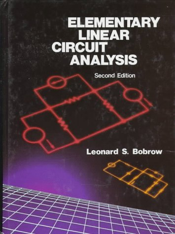 9780195113723: Elementary Linear Circuit Analysis (The Oxford Series in Electrical and Computer Engineering)