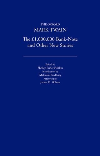1,000,000 Pound Bank Note & Other New: Twain, Mark
