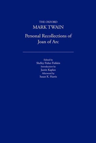 9780195114164: Personal Recollections of Joan of Arc (1896) (The Oxford Mark Twain)