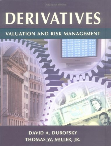 9780195114706: Derivatives: Valuation and Risk Management