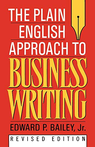 9780195115659: The Plain English Approach to Business Writing