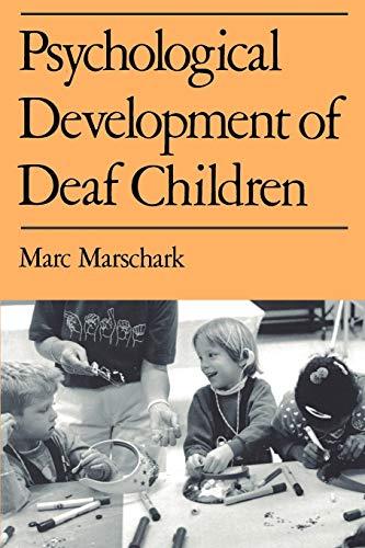 9780195115758: Psychological Development of Deaf Children