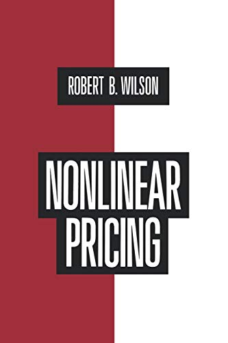 9780195115826: Nonlinear Pricing: Published in Association with the Electric Power Research Institute