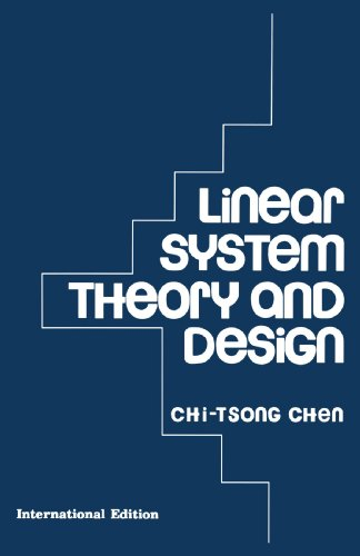 9780195115956: Linear System Theory and Design (The Oxford series in electrical and computer engineering)