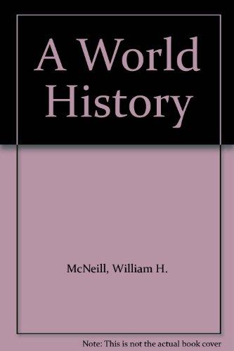 9780195116151: A World History