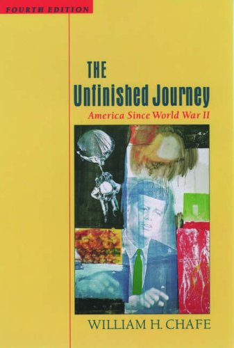 9780195116175: The Unfinished Journey: America Since World War II