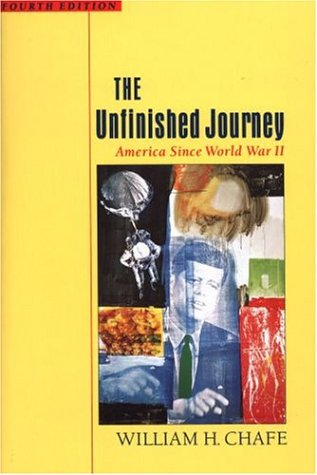 9780195116182: The Unfinished Journey: America Since World War II