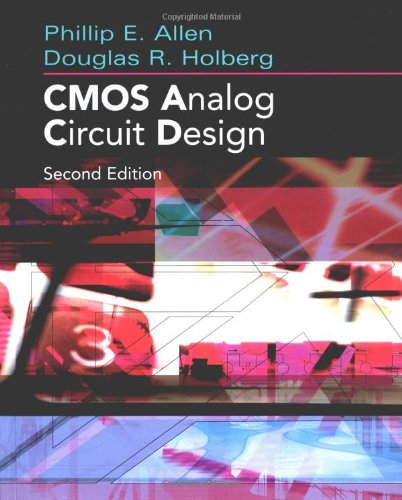 9780195116441: CMOS Analog Circuit Design