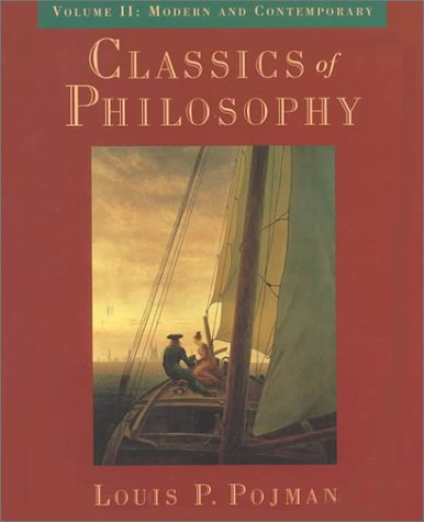 9780195116465: Classics of Philosophy: Volume II: Modern and Contemporary (Classics of Philosophy)