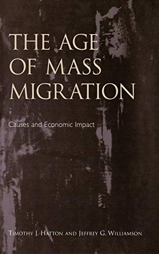 the age of mass migration in the united states The history of immigration to the united states details the movement america before the age of 18 and had mass migration under sail.