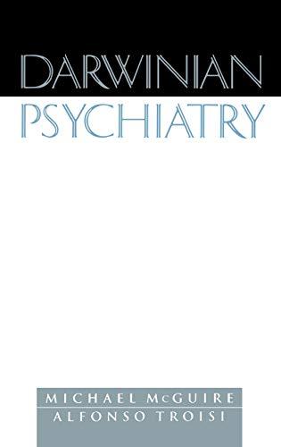 9780195116731: Darwinian Psychiatry