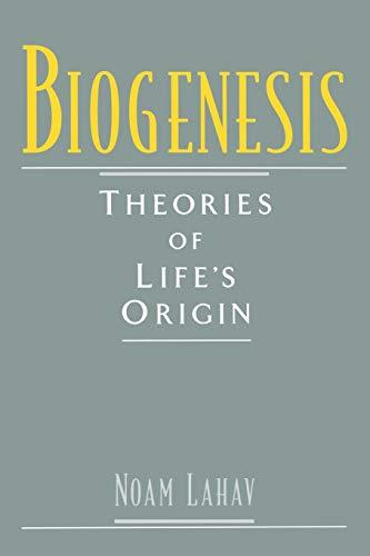 9780195117554: Biogenesis: Theories of Life's Origin