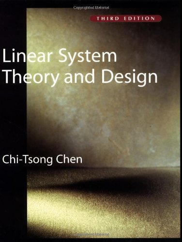 9780195117776: Linear System Theory and Design (The Oxford Series in Electrical and Computer Engineering)
