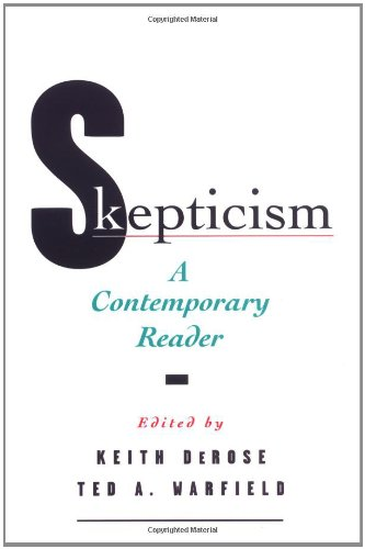 9780195118278: Skepticism: A Contemporary Reader (Contemporary Studies in Philosophy and)