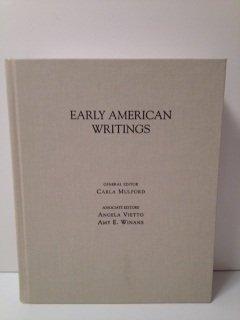9780195118407: Early American Writings