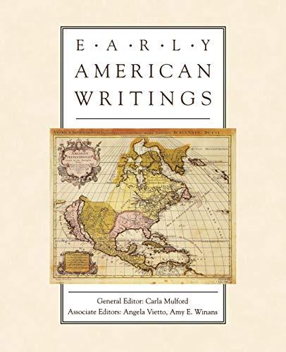 9780195118414: Early American Writings