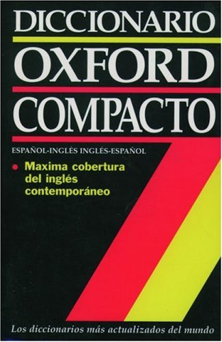 9780195118858: Diccionario Oxford Compacto: Español-Inglés/Inglés-Español