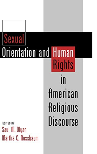 9780195119428: Sexual Orientation and Human Rights in American Religious Discourse