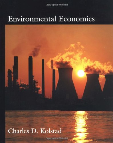 9780195119541: Environmental Economics