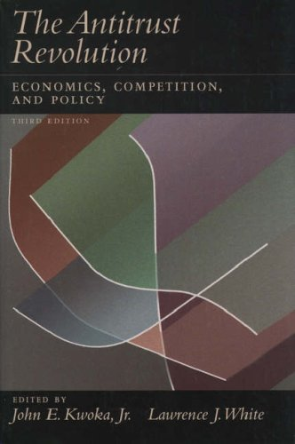 9780195120158: The Antitrust Revolution: Economics, Competition, and Policy