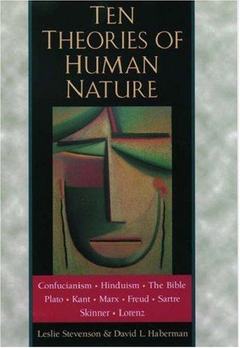 9780195120417: Ten Theories of Human Nature