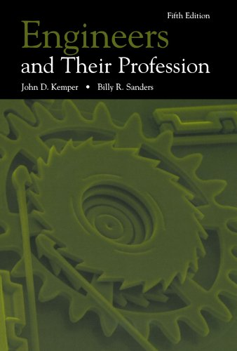 9780195120578: Engineers and Their Profession