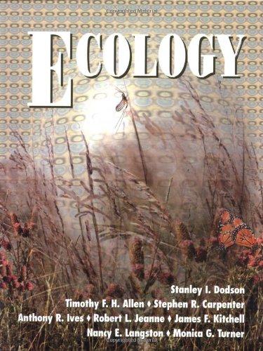 Ecology: Stanley I. Dodson,