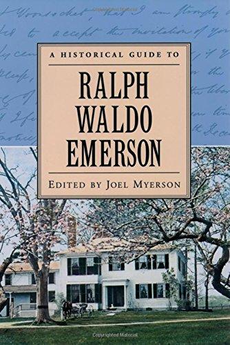 9780195120936: A Historical Guide to Ralph Waldo Emerson