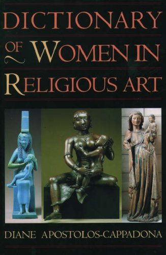 9780195120981: Dictionary of Women in Religious Art