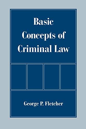 9780195121711: Basic Concepts of Criminal Law