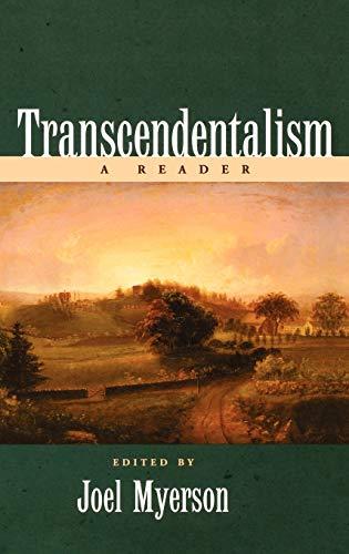 9780195122121: Transcendentalism: A Reader