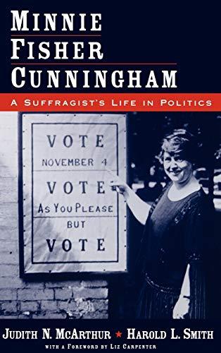 9780195122152: Minnie Fisher Cunningham: A Suffragist's Life in Politics