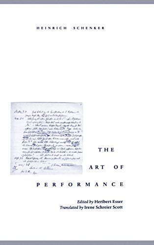 9780195122541: The Art of Performance