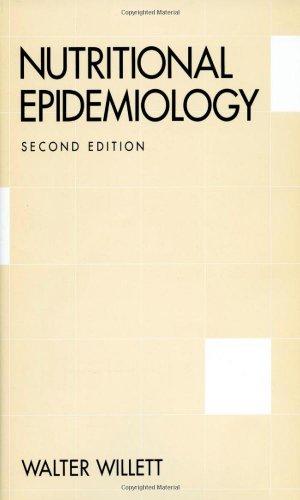 9780195122978: Nutritional Epidemiology