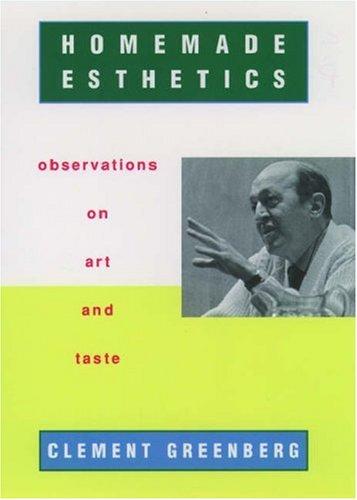 9780195124330: Homemade Esthetics: Observations on Art and Taste