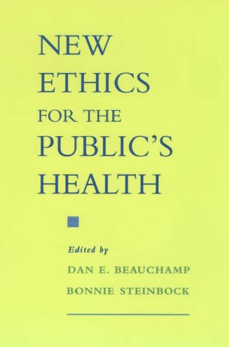 9780195124385: New Ethics for the Public's Health