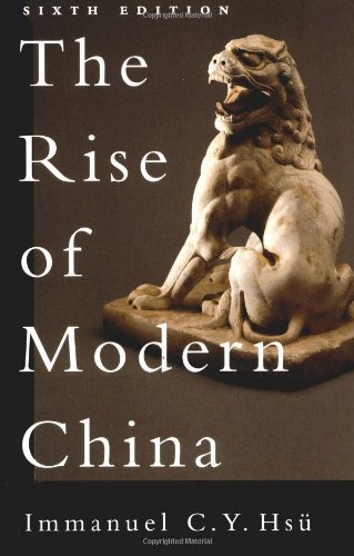 9780195125047: The Rise of Modern China