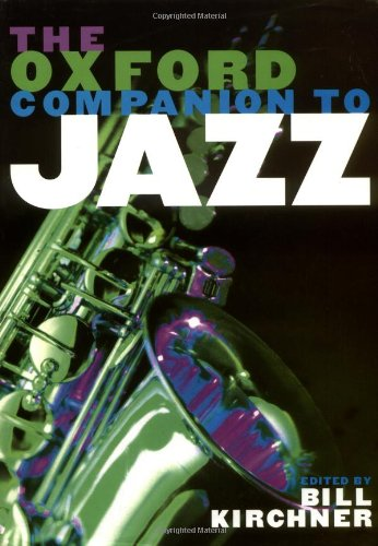 9780195125108: The Oxford Companion to Jazz