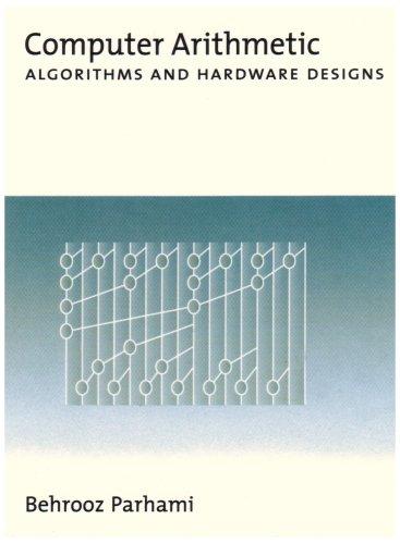 9780195125832: Computer Arithmetic: Algorithms and Hardware Designs