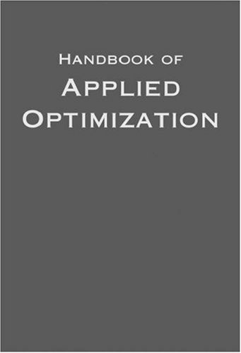 9780195125948: Handbook of Applied Optimization